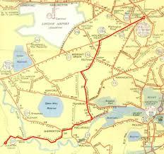 London Bus Map 237 1955 Jpg