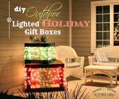 Lighted Christmas Outdoor Decorations by 27 Cheerful Diy Christmas Decoration Ideas You Should Look