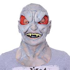 Realistic Halloween Costumes Aliexpress Com Buy Alien Latex Mask Bloody Bane Face Off Horror
