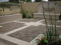 Concrete Patio With Pavers Concrete And Paver Patio Home Design Ideas And Pictures