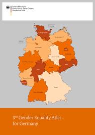 Baden Englisch Bundesregierung 3rd Gender Equality Atlas For Germany