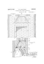patent us1853234 fireplace smoke chamber construction google