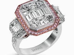 Heart Shaped Wedding Rings by Wedding Rings Heart Wedding Ring Charm Amethyst Heart Wedding