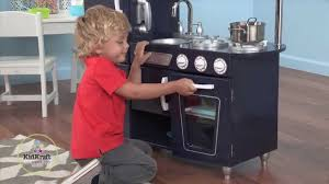 cuisine kidcraft children s navy vintage play kitchen review