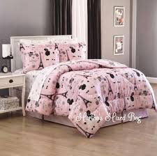 Girls Paris Themed Bedroom Decorating Paris Chic Eiffel Tower French Poodle Teen Girls Pink Comforter