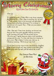 letters from santa letters from santa claus send a magical letter from santa