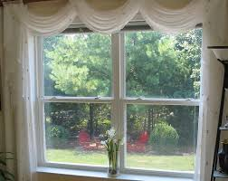Sheer Curtains With Valance Sheer Swag Valance Production Gallery Citys Home