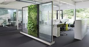 cloison bureau acoustique cloison de séparation acoustique végétale greenwall