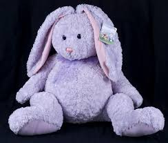 stuffed bunnies for easter le chat noir boutique gund heads n tales 20 lavender purple easter
