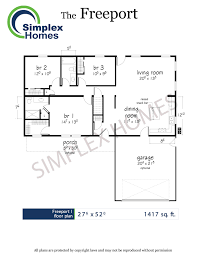 simplex homes freeport ranch modular home