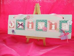 Baby Plaques Personalized 11 Best Baby Plaques Images On Pinterest Baby Keepsake Name