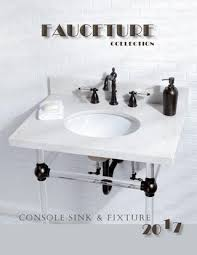 kingston brass console sink 2017 fauceture console sink and fixtures by kingston brass issuu