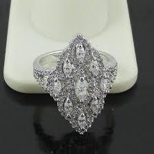 overstock wedding ring sets rings diamonique hsn wedding rings diamonique wedding sets
