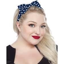 polka dot hair hair accessories accessories sourpuss clothing