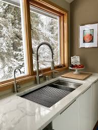 what size undermount sink for 33 inch base cabinet 33 ledge sink single bowl offset drain left 5ls33l