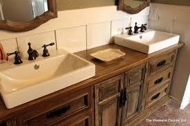 diy dresser to sink vanity how to repurpose old furniture in a