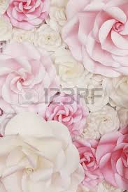 wedding backdrop background flower paper wedding backdrop background and texture stock photo