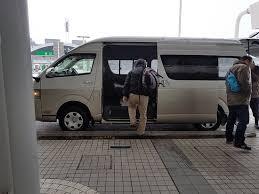 n駮n pour chambre 到機場的免費接駁巴士 可以看出飯店的用心 photo de hotel wing