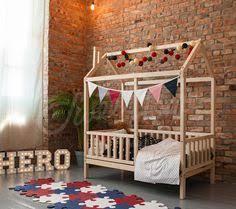Child Bed Frame Montessori Bed Children Bed Frame Bed Bed House Wood Bed