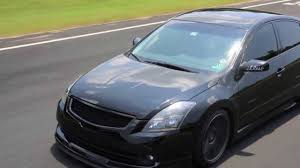 nissan altima coupe lip kit static nissan altima on avant garde hd youtube