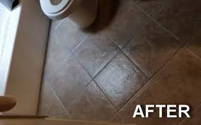 Sealing A Bathroom Floor How To Seal And Gloss Tile And Grout In One Step