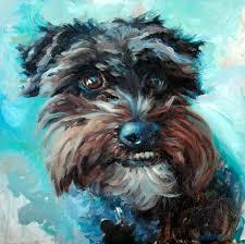 affenpinscher with underbite heather lenefsky art dogs u0026 animals