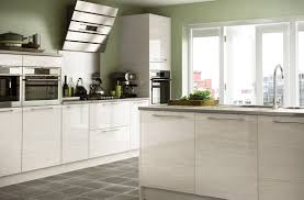 Grey Gloss Kitchen Cabinets by This Cool Grey Gloss Kitchen Is The Height Of Fashion And Style