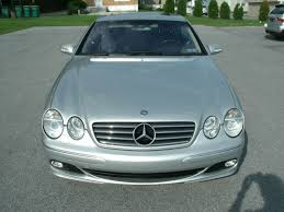 mercedes service records 2003 mercedes cl500 silver w blue leather complete service