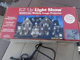 ez up light show mirror moving 16 slides image projector