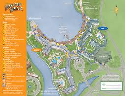 Holiday Inn Orange Lake Resort Map New Look 2013 Resort Hotel Maps Photo 37 Of 37