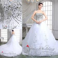 western wedding dresses sparkly luxury 2015 bling sweetheart lace up country western style