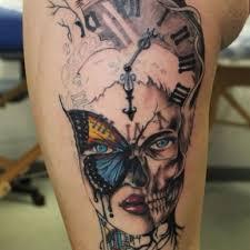 32 beautiful clock tattoos for girls
