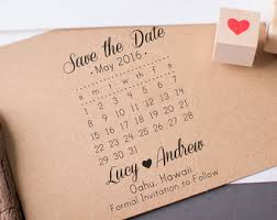 Savethedate Save The Date Stamp Custom Wedding Stamp With Names