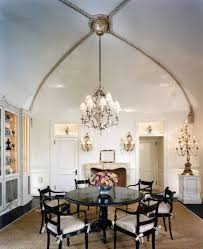 dining room with wall sconces and painting wall art placing dining