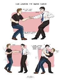 cas learns to swing dance by countess chocula deviantart com on
