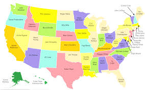 map usa with names map usa and capitals usa map of states with capitals