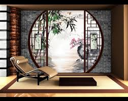 d馗oration japonaise pour chambre beau decoration de jardin japonais 13 papier peint 3d asiatique