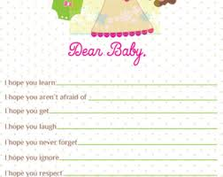 wishes for baby card baby shower wishes for baby