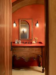 mediterranean style bathrooms venetian plaster colors bathroom mediterranean with gold frame