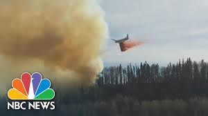 Bc Wildfire Global News by Wildfire Forces Evacuations Of Alberta City Nbc News Youtube