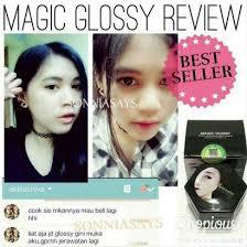 Wajah Magic Glosy magic glossy asli dan manfaatnya ori exclusive