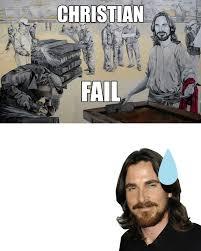 Christian Bale Meme - christian fail christian bale rant know your meme