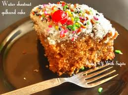 gluten free dairy free water chestnut gulkand cake u2013 batter up