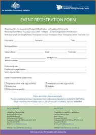 downloadable registration form template word and free printable