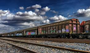 rusty train free images sky wagon old cityscape vehicle train station