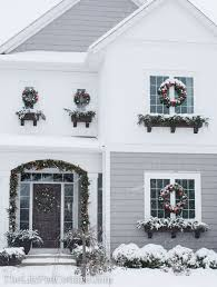 Outdoor Christmas Decorations Red And White by 271 Best Holiday Decor Ideas Images On Pinterest Holiday Decor