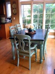 chalk paint table ideas pictures of painted kitchen tables painted dining table ideas
