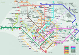 Singapore Map World by Smrt Network Map Smrt Singapore Map Republic Of Singapore
