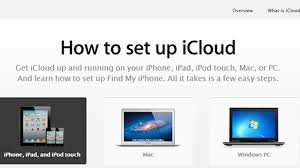 set up icloud account on pc apple publishes guide on how to set up icloud cnet