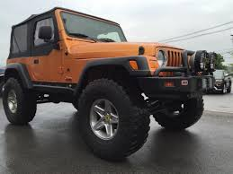orange jeep wrangler unlimited for sale 2005 5 7l hemi rubicon for sale american expedition vehicles